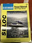 Seloc Sea-Doo/Bombardier Repair Manual 92-97