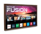 "TRUE OUTDOOR TV FUSION BY SKYVUE 65"" 400NIT 4K SMART #1 Rated Weatherproof Tvs"