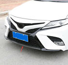ABS Carbon fiber Front Bumper modelling Protective cover For Toyota Camry 18-19