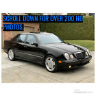 2001 Mercedes-Benz E-Class E 55 2001 MERCEDES BENZ E 55 AMG BLACK ON BLACK ONLY 79,789 LOW MILES!!!!!