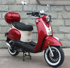 FREE SHIP MARGARI 50 Vintage 49cc Gas Scooter Retro Moped MotorBike Remote Alarm