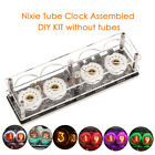 Mini Retro Digital Nixie Tube Clock Remote Assembled without ZM1020 Z560M Tubes