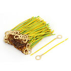 0.75mm2 Non Standard Double Color Copper Ground Wire Antenna 10mmx100mm 200pcs