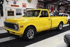 1972 Chevrolet C/K Pickup 2500 C20 PICKUP TRUCK 350 CI ENGINE AUTOMATIC A/C 10337 MILES 350 CI ENGINE AUTOMATIC FACTORY A/C POLISHED WHEELS CUSTOM LIGHTS
