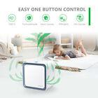 Home 3-In-1 Air Purifier HEPA W/True HEPA Filter 3 Speeds Odor Allergies Reduce