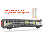 LED Light Bar, AKD Part 18 inch 292W LED Work Light Two-sided Shooter LED Lights