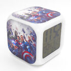 Led Alarm Clock The Avengers Creative Digital Table Alarm Clock for Kid Toy Gift