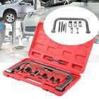Valve Spring Clamps Compressor 10 PCS Cars Motorcycle Tool Bit Set OHV/OHC Kit