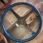 "17"" ""BLUE"" FLAT FOUR 4 SPOKE Indy Sprint Car Steering Wheel Bell Schroeder NEW"