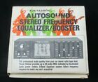 VTG REALISTIC Autosound Car Stereo Frequency Equalizer Booster 12-1879A NIB