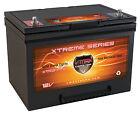 VMAX XTR34-75 75ah AGM 12V AGM Battery replaces Panasonic LC-X1265P Battery