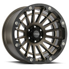 "4 Vision 417 Creep 20x10 6x5.5"" -25mm Bronze/Black Wheels Rims 20"" Inch"