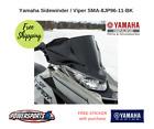 YAMAHA SIDEWINDER SR VIPER LOW SPORT WINDSHIELD BLACK  SMA-8JP96-11-BK
