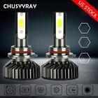 2Pcs Mini 9006 HB4 Car LED Headlight Conversion Kit High Low Beam Lamp Bulbs