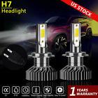 2Pcs H7 LED Headlight Bulb Conversion Kit Hi/Lo Beam 100W  6000K Super Bright US