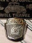 Vintage 1950s FORD Truck Hood Emblem NO.2 BAAA-16637-A   ORIGINAL PIECE