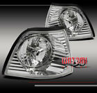 92-98 BMW E36 3 SERIES 4DR SEDAN CORNER SIGNAL PARKING LIGHTS LAMP CLEAR CRYSTAL
