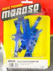 Moroso Valve Cover Hold Down Tabs Blue Powder Coat BBC P/N 68526