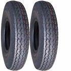 "2) 5.30-12 530-12 5.30x12 530x12 12"" Trailer Tire 6ply"