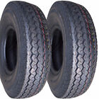 "2) 5.70-8 570-8 5.70x8 570x8 8"" DOT Trailer Tire 8ply"