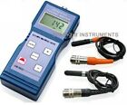 Digital Paint Coating Thickness Gauge Meter F/NF Probes
