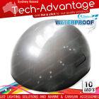 12V MODERN SLEEK BLACK HOUSING BOAT LED STERN TRANSOM SURFACE MOUNTED LED LIGHT