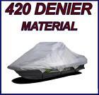 "420 DENIER Sea Doo Bombardier PWC JetSki Jet Ski Cover 113""-119"" 2-3 seat"
