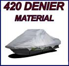 """420 DENIER Jet Ski Cover for One Two Three person pwc up to 129"""""""