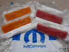 NEW 72-74 Dodge Challenger, Plymouth Cuda Side Marker Lamps, ALL 4,OEM  Mopar
