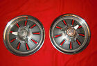 Pair of Original 1964 Corvette Hub Caps