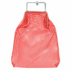 "Deluxe Diver's Mesh Bag 15"" Deep and Made of Strong Nylon for Beach Detecting"