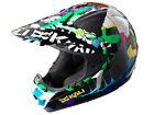 Kali Prana Carbon- Grafitti Graphic ATV/ Motocross Helmet Wild