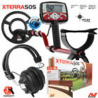 """Minelab X-Terra 505 Metal Detector with 9"""" Search Coil and RPG Headphones"""