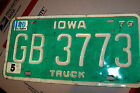 TRUCK  TAGS 1979 IOWA  RATROD CHEVY. FORD LOWRIDER