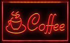 CC027 B OPEN Espresso Cappuccino Coffee Cafe Light Signs