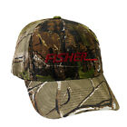 Fisher Metal Detector Mossy Oak Camo Pattern Ball Cap Hat Camouflage FCCAP