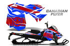 SKI-DOO REV XM SUMMIT SNOWMOBILE SLED GRAPHICS KIT WRAP CREATORX CAN FLYER RBL