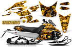 Yamaha FX Nytro 08-14 Graphics Kit CreatorX Snowmobile Sled Decals INFERNO Y