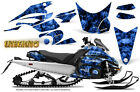 Yamaha FX Nytro 08-14 Graphics Kit CreatorX Snowmobile Sled Decals INFERNO BLUE