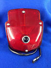 1953/56 PICKUP TAIL LAMP ASSEMBLY L/HAND STAINLESS STEEL HOUSING W/BLUE DOT