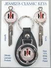 Red & Black International Harvester IH White Gold Deluxe Classic Keys 1930- 1969