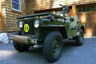 Willys : Willys M38 1951 WIllys M38 Military Jeep   -  Fully Restored - Antique Army Classic