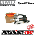 """Viair 85P Portable Air Compressor Kit 60 PSI for Up 31"""" 4x4 Offroad Jeep RV Boat"""