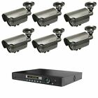 Long Range Wireless Weatherproof Cameras Transmit Video Up To 3,500FT + DVR