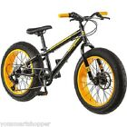 "Boys Fat Tire Mountain Bike 20"" Bicycle Shimano Steel Aluminum Frame Men NEW"