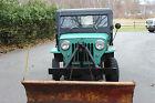 Willys : CJ3B Hard Top 1960 CJ3B WILLY'S HARD TOP JEEP WITH SNOW PLOW