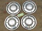 Ford Pinto OEM Hub Caps Set of Four Fit 14 inch Wheels