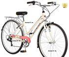 Schwinn Women's Wayfarer 7 Speed  700cc Steel Retro Steel  Bike Bicycle - Cream.