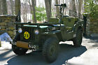 Willys : Willys Jeep M38 1952 willys m 38 jeep fully restored army military antique classic