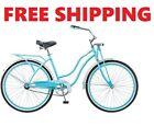"""26"""" Women's Schwinn, Cruiser Bike, Springer Fork, Vintage Beach Bike Turquoise."""